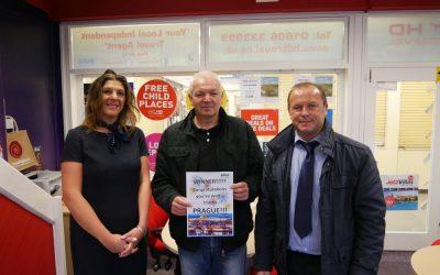 Northwich BID Announce Prague Holiday Competition Winner