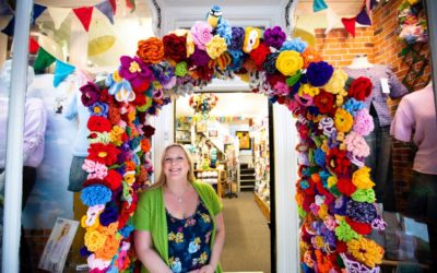 Crafty Stiches wins 'Best Dressed Business' competition in Northwich