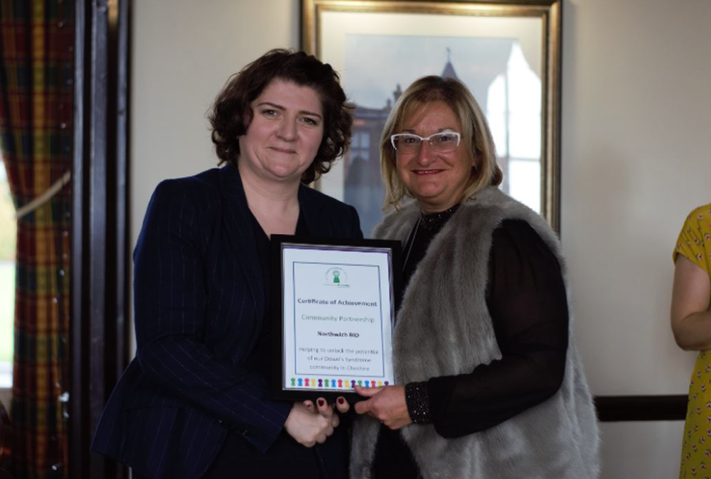 Northwich Business Improvement District receives 'Outstanding Community Partner Award'