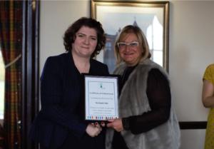 Northwich-BID-receiving-their-award