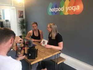 Live from Hotpod Yoga in Northwich