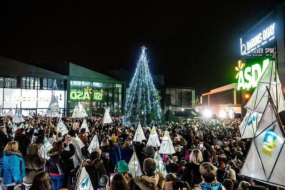 Northwich Christmas Extravaganza Lights