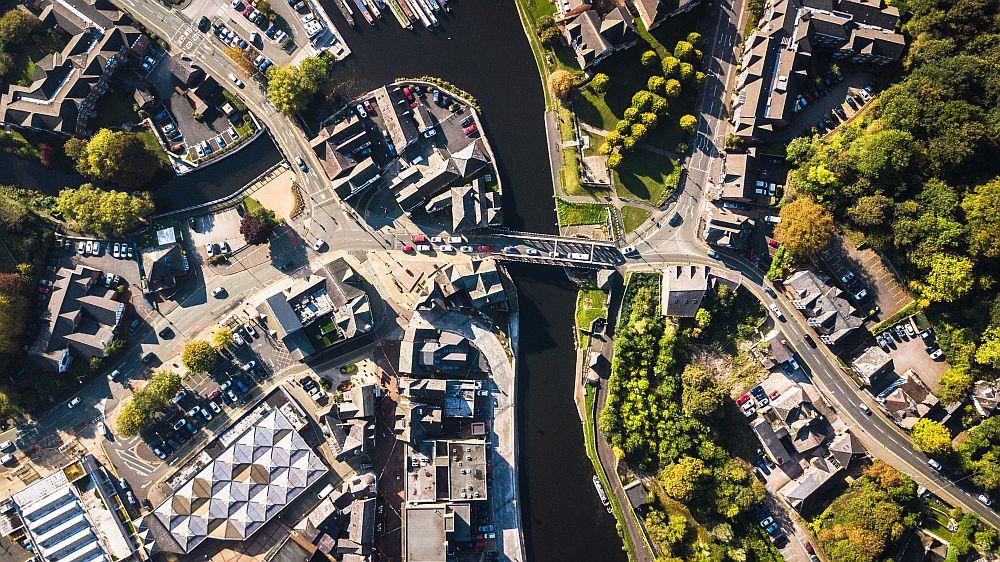 Northwich-Drone-Photo
